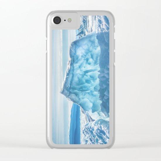Pressure ridge of lake Baikal Clear iPhone Case