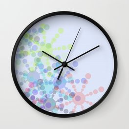 Snow Flakin' Wall Clock