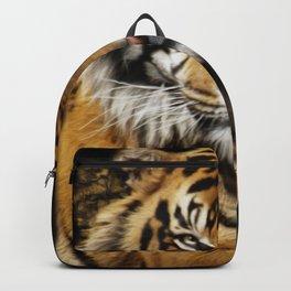 Tiger, Tiger - Big Cat Art Design Backpack