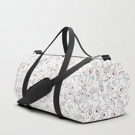 HANDS / pattern pattern Duffle Bag