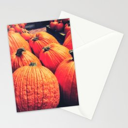 Pumpkins on a Pallet Stationery Cards