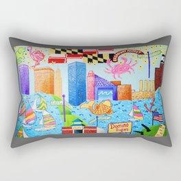 Baltimore, Maryland Rectangular Pillow