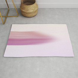 Abstract Flatiron Building Color Gradient Rug