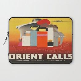 Vintage poster - Oriental Tourist Conference Laptop Sleeve