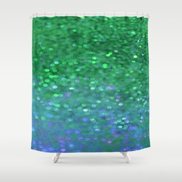 Sea Nymph Sparkle Shower Curtain