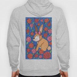 Spring Bunny & Roses Hoody