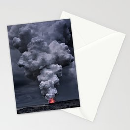 Kilauea Volcano at Kalapana 3e Stationery Cards