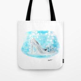 Cinderella Shoes Tote Bag