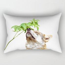 Wolf I (Animal Collection) Rectangular Pillow