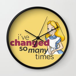 Changed Wall Clock