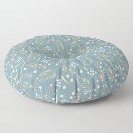 wattle flower Floor Pillow