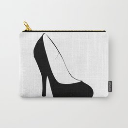 Stiletto Heel Silhouette Carry-All Pouch