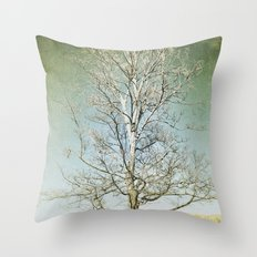 Tree 5 Throw Pillow