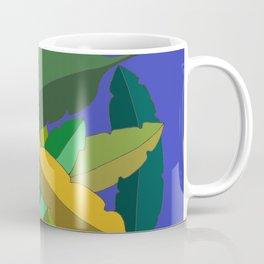Bunch of Banana Leaves Coffee Mug