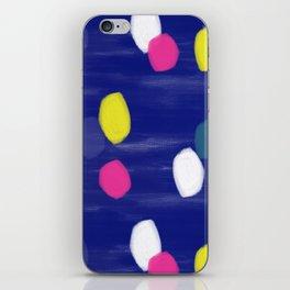 Spotty Blue iPhone Skin