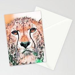 Animal ArtStudio 1520 Cheetah Stationery Cards