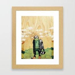 Boots Burd Framed Art Print
