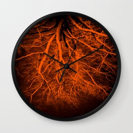 The Path To Hell Is Paved With Good Intentions Wall Clock