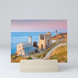 Levant Mine Cornwall England Mini Art Print