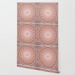 Rose Pink Mandala Wallpaper