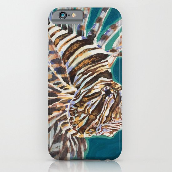 Red Lionfish iPhone & iPod Case
