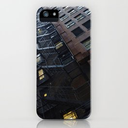 Chicago Endless Fire Escape iPhone Case