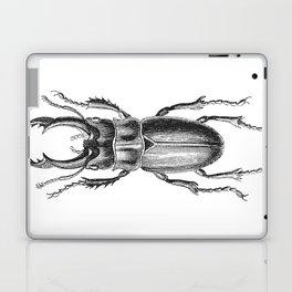 Vintage Beetle black and white Laptop & iPad Skin