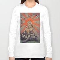 buddah Long Sleeve T-shirts featuring Buddah by BBarends