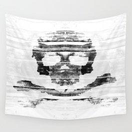 Bitter Bone Skull Wall Tapestry