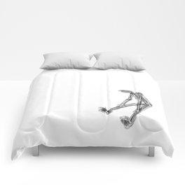 exhausted figure Comforters