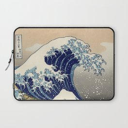 The Great Wave Off Kanagawa Laptop Sleeve
