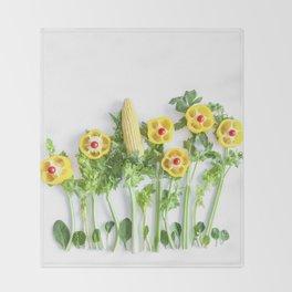 Peppers flower (35) Throw Blanket