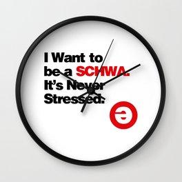 I Want to Wall Clock