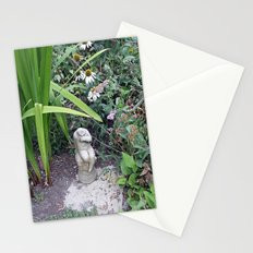 Sitting in the Garden Stationery Cards
