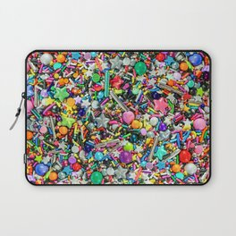 Rainbow Sprinkles - cupcake toppings galore Laptop Sleeve