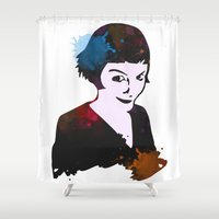 amelie Shower Curtains featuring Amelie by BIG Colours