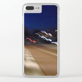 urban splash Paris Clear iPhone Case