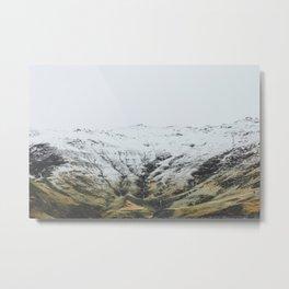 Seljavellir, Iceland Metal Print