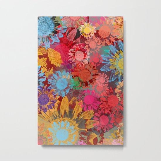 Flower carpet(38). Metal Print