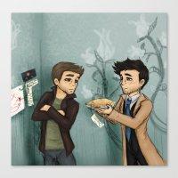 pie Canvas Prints featuring Pie by Phantasmic Dream