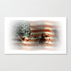 The Rise of a Nation Canvas Print