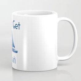 Let's Get Nauti Lake and Ocean Travel Coffee Mug