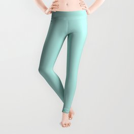 Simply aqua turquoise blue lightblue color - Mix and Match with Simplicity of Life Leggings