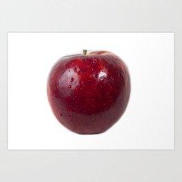Sweating Apple Art Print