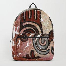 Healing Hands Fresco by OLena Art  Backpack