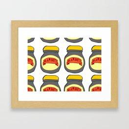 Marmite Framed Art Print