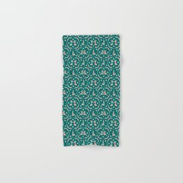 Retro Bathers in Teal Hand & Bath Towel
