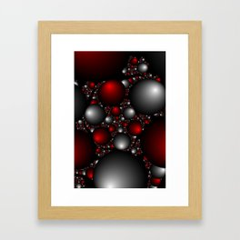 """Orbs Of Plenty"" Fractal Art Print Framed Art Print"