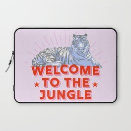 welcome to the jungle - retro tiger Laptop Sleeve