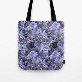 Indigo Bloom Tote Bag